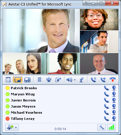 Avistar C3 Unified™ for Microsoft Lync
