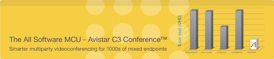 The All Software MCU - Avistar C3 Conference
